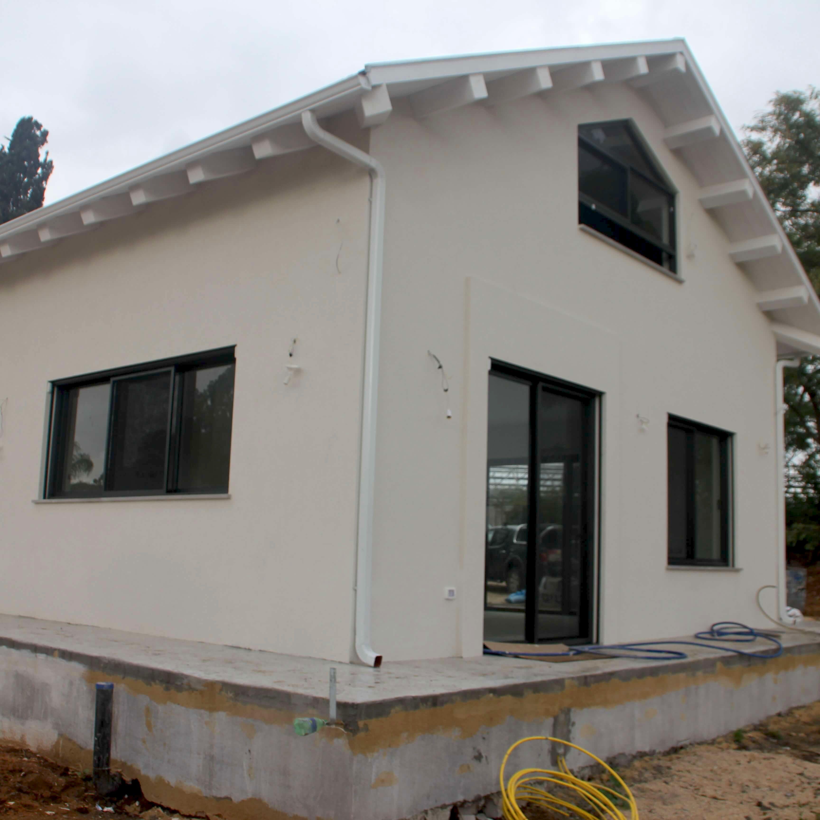 חידוש בתים בשליכט צבעוני